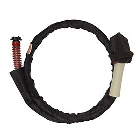 2m Curtain hose for steamer