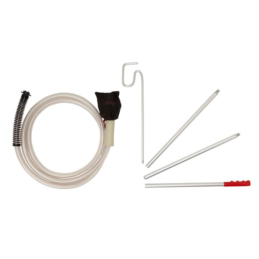 Drapery kit - 3m hose and extension poles for steaming long drop curtains