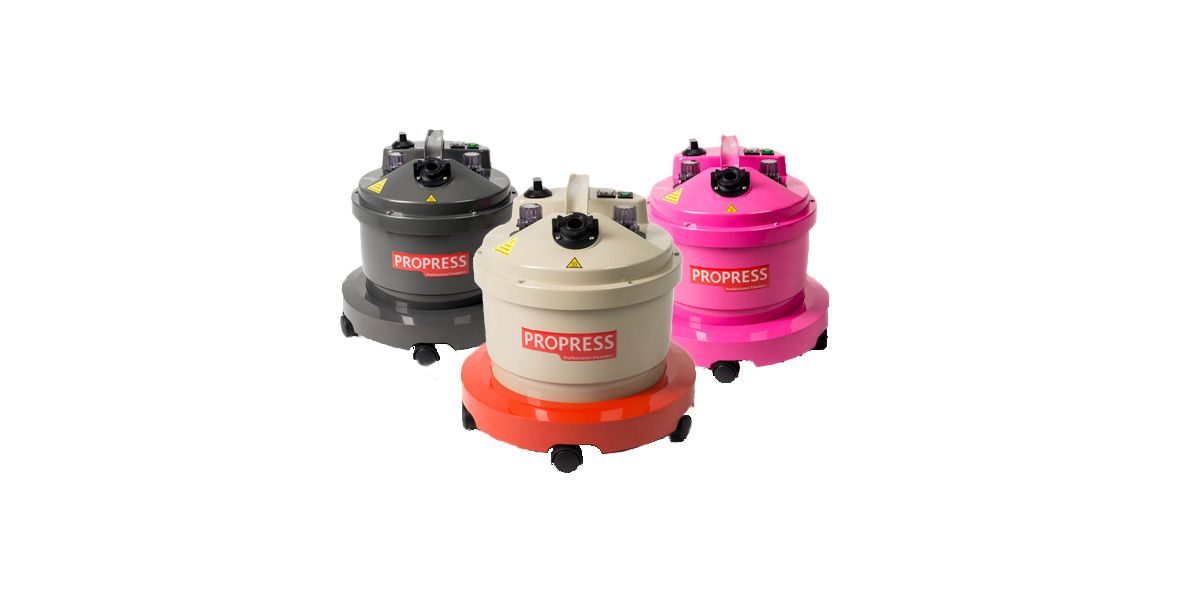 Propress 4 litre steamers all colours