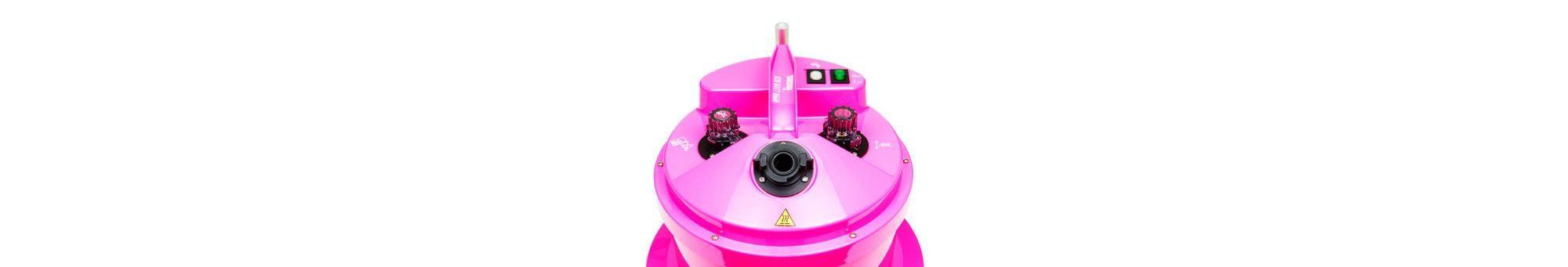 Propress PRO290P Pink steamer, dramatic lighting top view