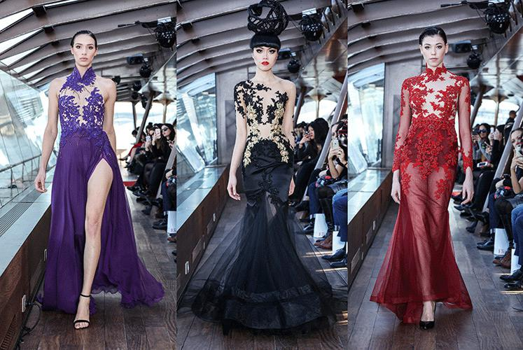 Jessica Minh Anh's Winter Fashion Show - Emmanuel Haute Couture