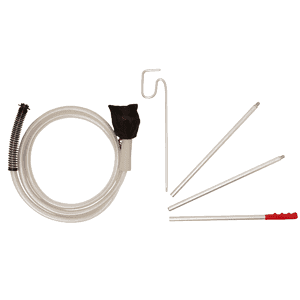 Steamer Accessories: Propress steamer Drapery Kit with 3m hose and extension poles